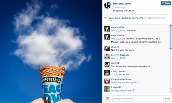 ben-and-jerrys-instagram